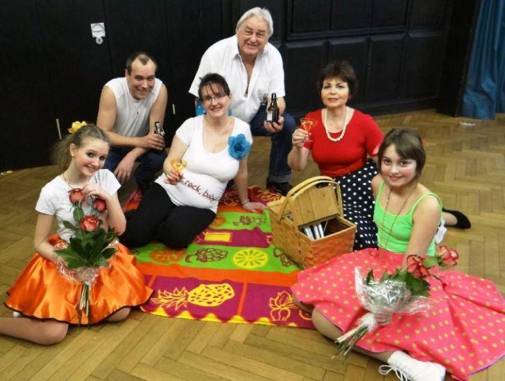 von links nach rechts: Eileen, Oliver, Silke, Udo, Gudrun & Melina